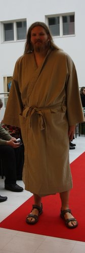 SPECI BATHROBE BEIGE